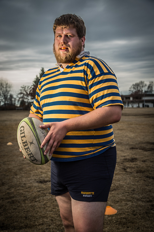 Civil engineer and rugby player, Iain McPherson, Delaney Park Strip, Anchorage