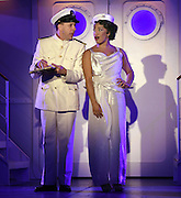 April 7, 2016, East Haddam, CT<br /> Mara Lavitt -- Special to the Hartford Courant<br /> The run-through of  the classic Cole Porter musical &quot;Anything Goes&quot; being performed at Goodspeed Musicals in East Haddam. Patrick Richwood as the Purser and Rashidra Scott as Reno Sweeney.