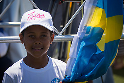 First day of the Louis Vuitton America's Cup Semi-finals, Artemis Racing versus Softbank Team Japan, 4th of June, 2017, Bermuda