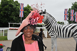 MARJORIE JONES mother of Grace Jones at the 2012 Investec sponsored Derby at Epsom Racecourse, Epsom, Surrey on 2nd June 2012.