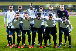 Team France during football match between Slovenia and France in Qualifying round for European Under-21 Championship 2019, on November 13, 2017 in Sportni park, Domzale, Slovenia.  Photo by Ziga Zupan / Sportida