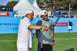 July 22, 2017 - France - Lucas Pouille - Ilie Nastase (Credit Image: © Panoramic via ZUMA Press)