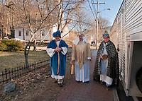 Gilford Community Church presents the Living Nativity at Thompson-Ames Historical Society Sunday,  December 11, 2011.