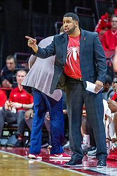NORMAL, IL - December 31: MARCUS BELCHER during a college basketball game between the ISU Redbirds and the University of Northern Iowa Panthers on December 31 2019 at Redbird Arena in Normal, IL. (Photo by Alan Look)