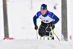 KHAMITOV Yerbol, KAZ, LW12 at the 2018 ParaNordic World Cup Vuokatti in Finland