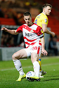 Tommy Rowe of Doncaster Rovers during the EFL Sky Bet League 1 match between Doncaster Rovers and Bristol Rovers at the Keepmoat Stadium, Doncaster, England on 26 March 2019.