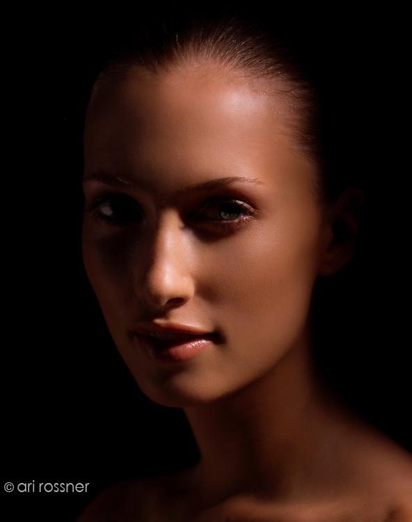 Model: Camille Gilbert @ Next Paris<br /> Makeup: Lloyd Simmonds<br /> Hair: Flavio Nunes