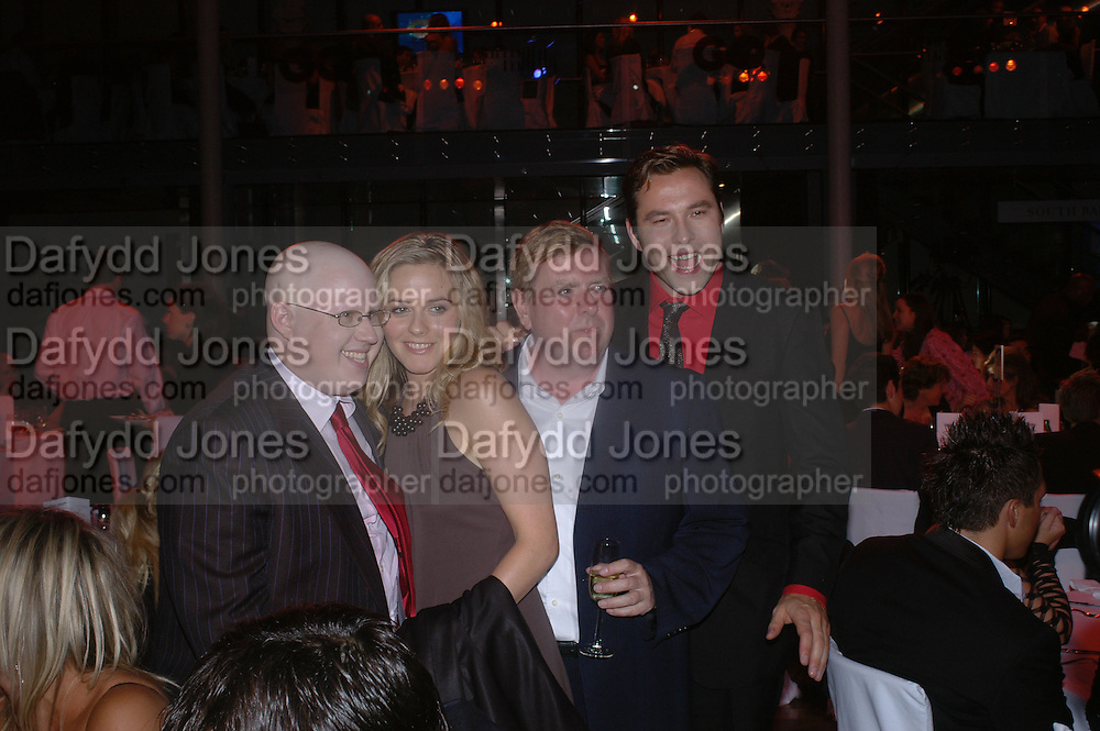 Matt Lucas, Timothy Spall, Alicia Silverstone and David Walliams. GQ Men Of The Year Awards at the Royal Opera House, London. September 6, 2005 in London, England, ONE TIME USE ONLY - DO NOT ARCHIVE  © Copyright Photograph by Dafydd Jones 66 Stockwell Park Rd. London SW9 0DA Tel 020 7733 0108 www.dafjones.com
