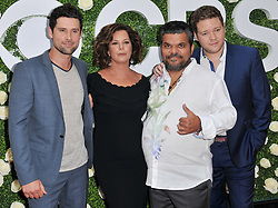 """""""Code Black"""" Cast - Ben Hollingsworth, Marcia Gay Harden, Luis Guzman and Harry Ford together at the 2017 CBS Television Studios Summer Soiree TCA Party held at the CBS Studio Center – New York Street in Studio City, CA on Tuesday, August 1, 2017. (Photo By Sthanlee B. Mirador) *** Please Use Credit from Credit Field ***"""