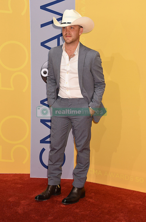 Justin Moore bei den 50. Country Music Awards in Nashville / 021116<br /> <br /> *** Country Music Awards 2016, Nashville, USA, November 2, 2016 ***