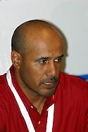 20.08.2003, Ratina Stadium, Tampere, Finland.FIFA U-17 World Championship - Finland 2003.Match 21: Group C - Brazil v Yemen.Coach Amen Al Sunaini - Yemen.©Juha Tamminen