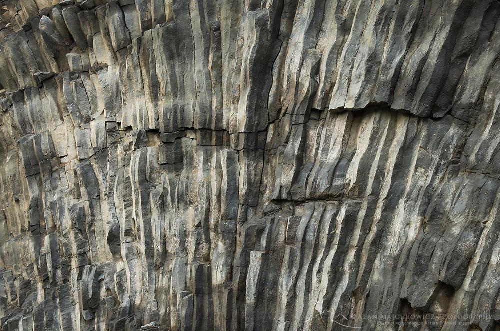 Columnar Basalt, Heather Meadows Recrewation Area, Mount Baker Snoqualmie National Forest