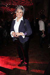 ANGELA RIPPON at the after show party following the first night of the musical Legally Blonde, held at the Waldorf Hilton Hotel, Aldwych, London on 13th January 2010.