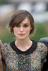 Keira Knightley..The Edge of Love photocall at Edinburg Castle..©2007 Michael Schofield. All Rights Reserved.
