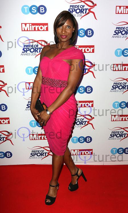 Denise Lewis, Pride of Sport Awards, Grosvenor House Hotel, London UK, 07 December 2016, Photo by Richard Goldschmidt
