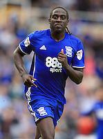 Birmingham City's Clayton Donaldson celebrates after he scores his sides third goal.