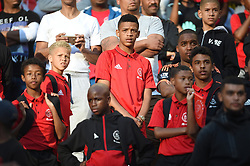 Cape Town-180512  Ajax Cape Town academy players who came to support their tream,look disappointed after losing 2-1 to Kaizer Chiefs in the last game of the PSL at Cape Town stadium.Ajax will now play the promotion /relegation play-offs. photographer:Phando Jikelo/African News Agency/ANA