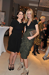 Left to right, SADIE FROST and DONNA AIR at the launch of the new John Lewis Beauty Hall, John Lewis, Oxford Street, London on 8th May 2012.
