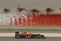 MOTORSPORT - F1 2012 -  BAHRAIN GRAND PRIX - SAKHIR (BHR) - 19 TO 22/04/2012 - PHOTO : FREDERIC LE FLOC'H / DPPI - <br /> VETTEL SEBASTIAN (GER) - RED BULL RENAULT RB8 - ACTION