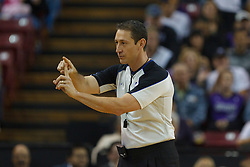 Jan 8, 2012; Sacramento, CA, USA; NBA referee J.T. Orr (72) during the first quarter between the Sacramento Kings and the Orlando Magic at Power Balance Pavilion. Orlando defeated Sacramento 104-97. Mandatory Credit: Jason O. Watson-US PRESSWIRE