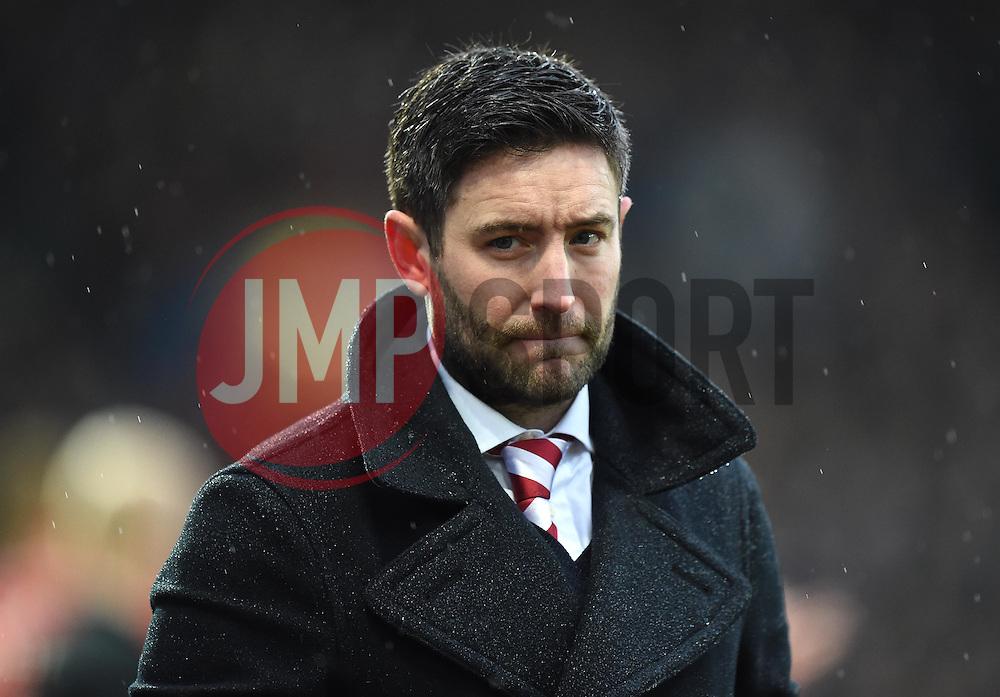 Lee Johnson newly appointed head coach of Bristol City - Mandatory by-line: Paul Knight/JMP - Mobile: 07966 386802 - 13/02/2016 -  FOOTBALL - Ashton Gate Stadium - Bristol, England -  Bristol City v Ipswich Town - Sky Bet Championship