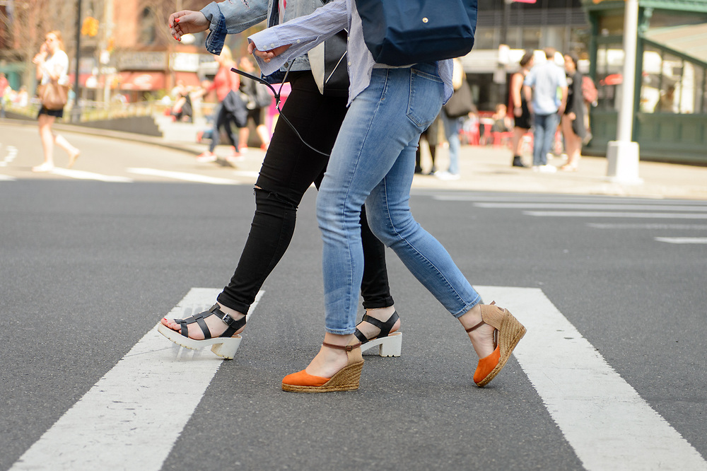 Sandals and Espadrilles, Astor Place, April 2018