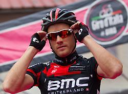15.05.2013, Tarvis, ITA, Giro d Italia 2013, 11. Etappe, Tarvis nach Vajont, im Bild /Danilo Wyss (SUI, Team BMC) / Danilo Wyss (SUI, Team BMC) during Giro d' Italia 2013 at Stage 11 from Tarvis to Vajont at Tarvis, Italy on 2013/05/15. EXPA Pictures © 2013, PhotoCredit: EXPA/ J. Groder