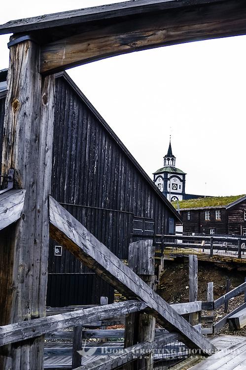 Norway, Røros. The mining town of Røros, also called Bergstaden.