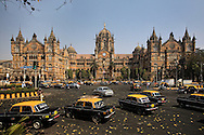 The Chhatrapati Shivaji Terminus, (formerly Victoria Terminus) is a UNESCO World Heritage Site and historic railway station in Mumbai which serves as the headquarters of the Central Railways. Situated in the Bori Bunder area of Mumbai, it was built as a new railway station on the location of the Bori Bunder Station in 1887 to commemorate the Golden Jubilee of Queen Victoria. In 1996 its name was changed to the present name in honour of the Maratha warrior Shivaji.