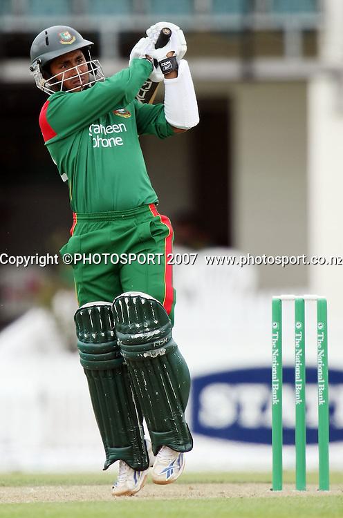Bangladesh captain Mohammad Ashraful. Northern Knights v Bangladesh. One day tour cricket match. Seddon Park, Hamilton. Sunday 16 December 2007. Photo: Stephen Barker/PHOTOSPORT