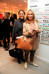 Left to right, LISA MOORISH and MEG MATTHEWS at the H&M Home Launch held at 174-176 Oxford Street, London W1 on 2nd November 2010.