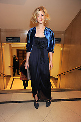 ROSAMUND PIKE at the 2008 British Fashion Awards held at the Lawrence Hall, Westminster, London on 25th November 2008.