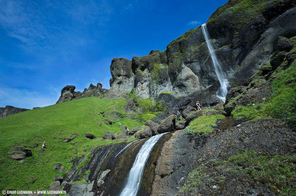 Foss á Síðu, waterfall in Iceland