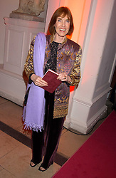 LADY STEWART wife of Jackie Stewart at a 'A Night in Cartier Paradise' to celebrate a new collection of jewellery by Cartier, held at The orangery, Kensington Palace, London W8 on 25th October 2005.<br />