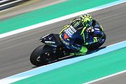 #46 Valentino Rossi, Italian: Movistar Yamaha MotoGP at speed during the Motul Dutch TT MotoGP, TT Circuit, Assen, Netherlands on 29 June 2019.