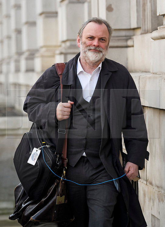 © Licensed to London News Pictures. 28/01/2019. London, UK. Permanent Representative of the United Kingdom to the European Union SIR TIM BARROW arrives at the Cabinet Offices on Whitehall. MPs on Tuesday will vote on a series of amendments to the PM's plans that could shape the future direction of Brexit.. Photo credit: Ben Cawthra/LNP