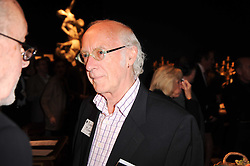 ROGER McGOUGH at an auction and priavte view of paintings, drawings, stories and doodles by well known personalities held at Christie's, St.James's, London on 20th September 2010.