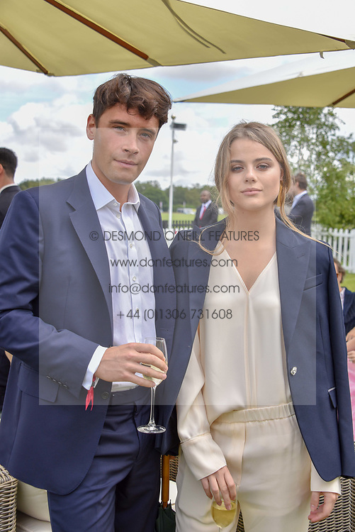 at the Cartier Queen's Cup Polo 2019 held at Guards Polo Club, Windsor, Berkshire. UK 16 June 2019 - <br /> <br /> Photo by Dominic O'Neill/Desmond O'Neill Features Ltd.  +44(0)7092 235465  www.donfeatures.com