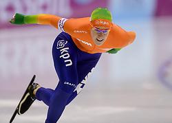 12-01-2013 SCHAATSEN: EK ALLROUND: HEERENVEEN<br /> NED, Speedskating EC Allround Thialf Heerenveen / 500 meter Ireen Wust<br /> ©2013-FotoHoogendoorn.nl
