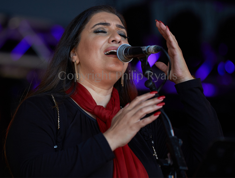 Ghada Shbeir, Womad, Malmesbury, Wiltshire, United Kingdom, July 30th, 2017 (Copyright Philip Ryalls)