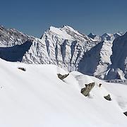 Freeride, Chamonix, France, Winter, Juan Bergada, Freeski, Helbronner