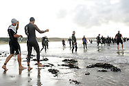 scenes from the Gower Peninsula Triathlon 2009 at Port Eynon , Gower, Swansea in South Wales on Sat 8th August 2009. pics by Andrew Orchard