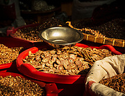 Betel nuts on a market stall, Mandalay, Myanmar