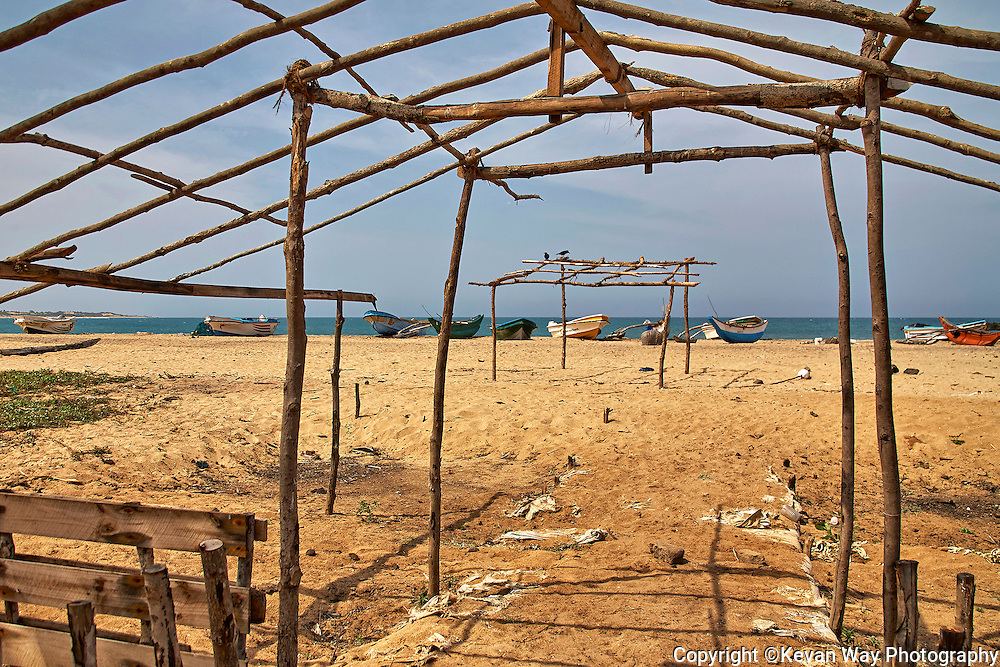drying shed Pottuvil Sri Lanka