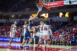NORMAL, IL - November 06: Nick Muszynski during a college basketball game between the ISU Redbirds and the Belmont Bruins on November 06 2019 at Redbird Arena in Normal, IL. (Photo by Alan Look)