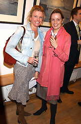 Left to right, CATHERINE CAMERON and ALEXANDRA WHITAKER at a private view of paintings by George Lewis held at the Air Gallery, 32 Dover Street, London W1 on 5th October 2005.<br /><br />NON EXCLUSIVE - WORLD RIGHTS