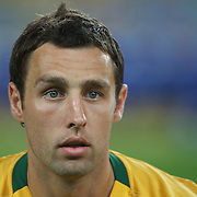 Scott McDonald during the 2010 Fifa World Cup Asian Qualifying match between Australia and Uzbekistan at Stadium Australia in Sydney, Australia on April 01, 2009. Australia won the match 2-0.  Photo Tim Clayton