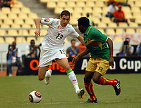 Fotball<br /> Foto: DPPI/Digitalsport<br /> NORWAY ONLY<br /> <br /> FOOTBALL - AFRICAN NATIONS CUP 2010 - GROUP A - ALGERIE v MALI - 14/01/2010<br /> <br /> KARIM MATMOUR (ALG)