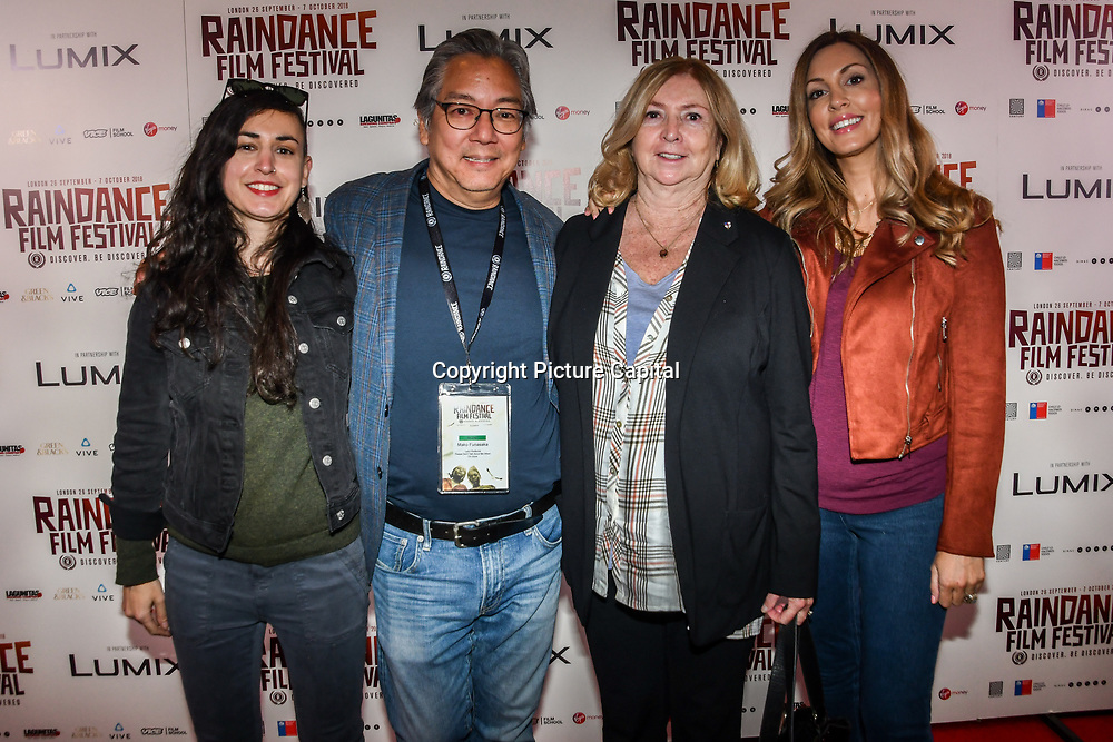 Director Mako Funasaka family and friends attend 'Souls of Totality' film at Raindance Film Festival 2018, London, UK. 30 September 2018.