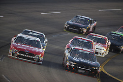 April 20, 2018 - Richmond, Virginia, United States of America - April 20, 2018 - Richmond, Virginia, USA: Ryan Reed (16) races off turn four during the ToyotaCare 250 at Richmond Raceway in Richmond, Virginia. (Credit Image: © Stephen A. Arce/ASP via ZUMA Wire)